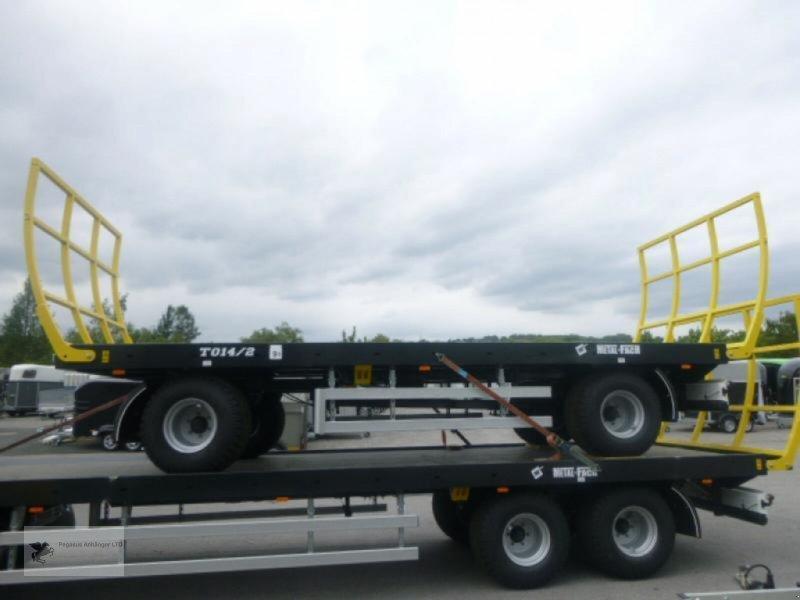 Heckcontainer des Typs Metal-Fach Ballenwagen T014/2 2-Achser, Neumaschine in Gevelsberg (Bild 1)