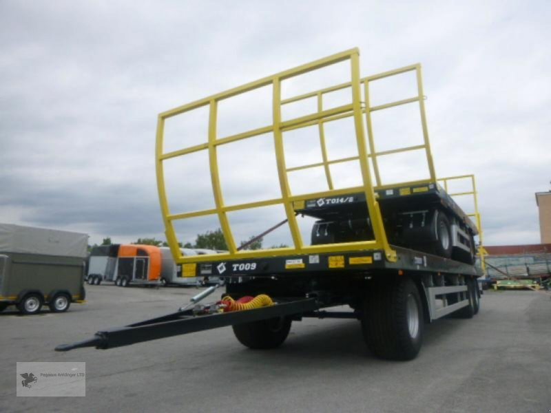 Heckcontainer des Typs Metal-Fach Ballenwagen T014/2 2-Achser, Neumaschine in Gevelsberg (Bild 3)