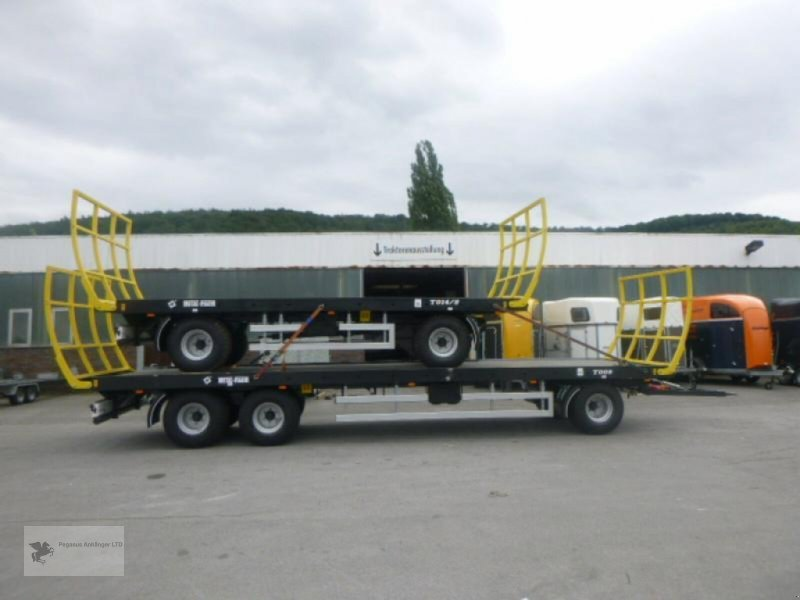 Heckcontainer des Typs Metal-Fach Ballenwagen T014/2 2-Achser, Neumaschine in Gevelsberg (Bild 8)