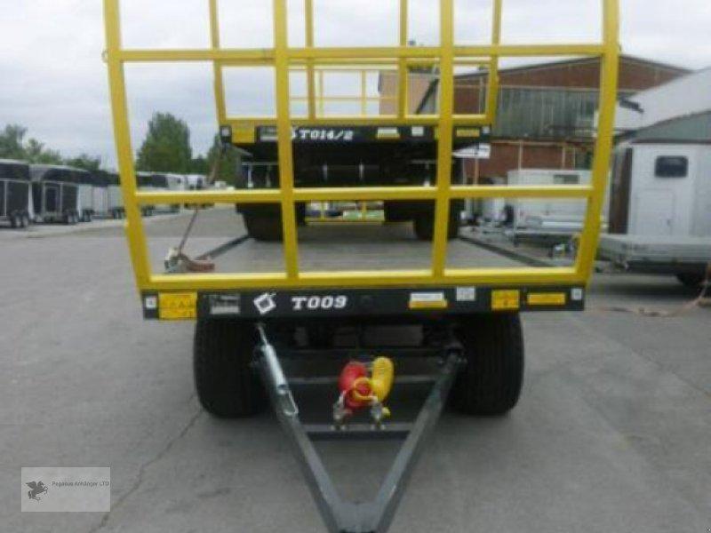 Heckcontainer des Typs Metal-Fach Ballenwagen T014/2 2-Achser, Neumaschine in Gevelsberg (Bild 2)
