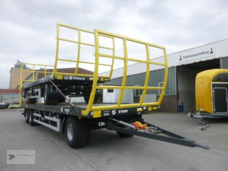 Heckcontainer des Typs Metal-Fach Ballenwagen T014/2 2-Achser, Neumaschine in Gevelsberg (Bild 9)