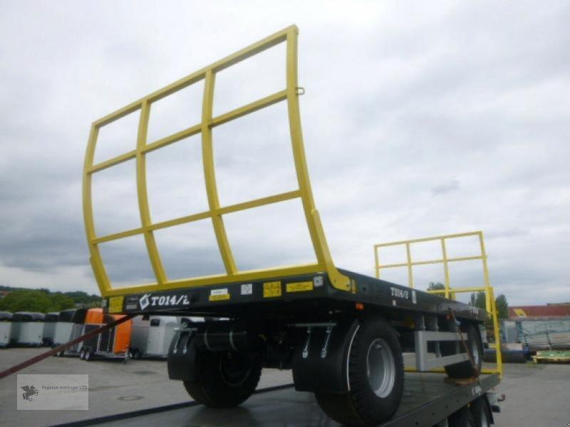 Heckcontainer des Typs Metal-Fach Ballenwagen T014/2 2-Achser, Neumaschine in Gevelsberg (Bild 6)