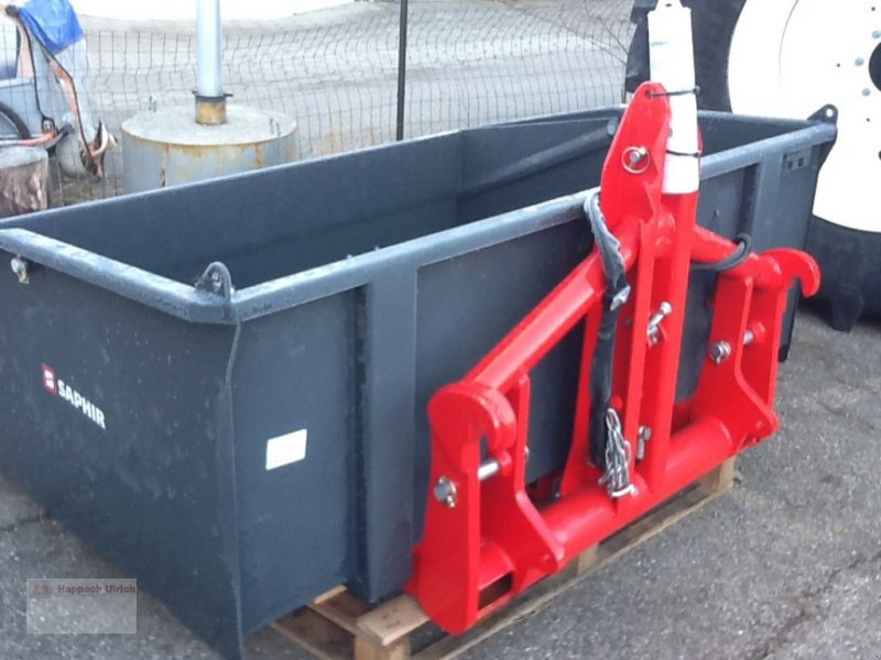 Heckcontainer des Typs Saphir TLH 180 Multi, Neumaschine in Fuchstal (Bild 1)