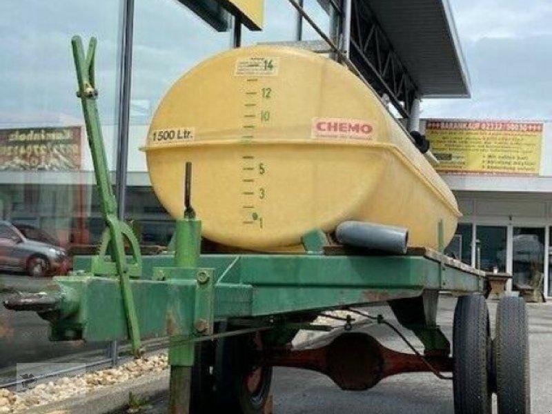 Heckcontainer типа Sonstige Chemo Wasserfass 1500ltr. auf Einachser, Gebrauchtmaschine в Gevelsberg (Фотография 1)