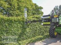 Greentec HS 172 Ast- und Heckenschere hydraulisch für Frontlader + HXF 2802 Anbaurahmen Heckenschere