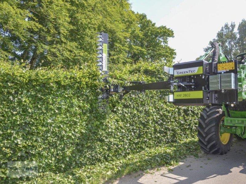 Heckenschere типа Greentec HS 172 Ast- und Heckenschere hydraulisch für Frontlader + HXF 2802 Anbaurahmen, Neumaschine в Schmallenberg (Фотография 1)