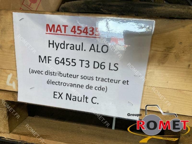 Heckstapler/Anbaustapler типа Alö MC4, Gebrauchtmaschine в Gennes sur glaize (Фотография 1)