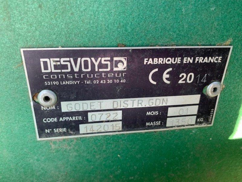Heckstapler/Anbaustapler typu Desvoys GODET, Gebrauchtmaschine v ROYE (Obrázok 7)