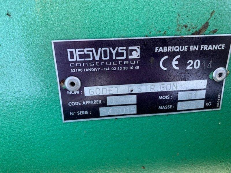 Heckstapler/Anbaustapler typu Desvoys GODET, Gebrauchtmaschine v ROYE (Obrázok 8)