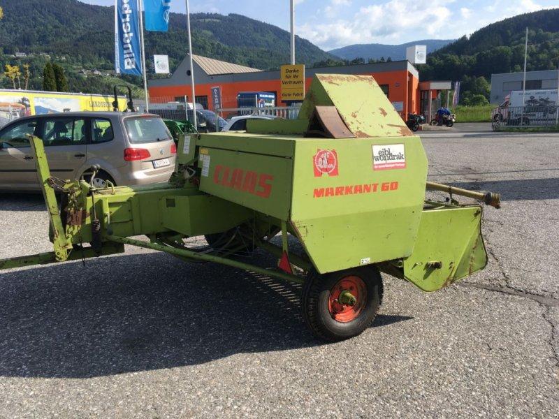 Hochdruckpresse des Typs CLAAS Markant 60, Gebrauchtmaschine in Villach (Bild 2)