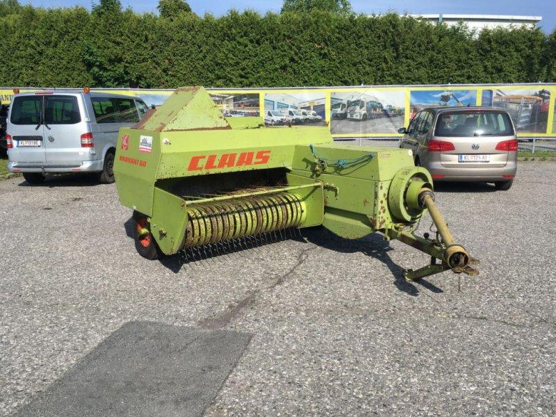Hochdruckpresse des Typs CLAAS Markant 60, Gebrauchtmaschine in Villach (Bild 1)