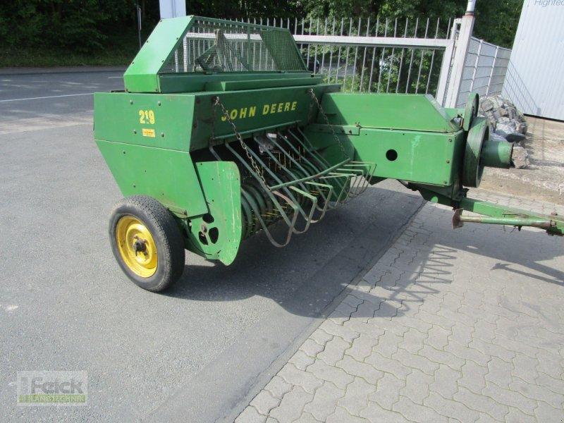 Hochdruckpresse des Typs John Deere 219, Gebrauchtmaschine in Reinheim (Bild 1)