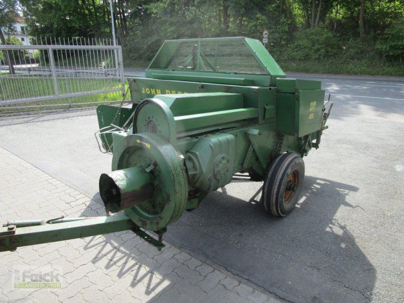 Hochdruckpresse des Typs John Deere 219, Gebrauchtmaschine in Reinheim (Bild 8)