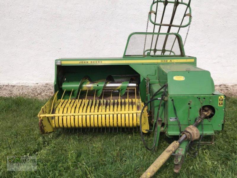 Hochdruckpresse des Typs John Deere 332 A, Gebrauchtmaschine in Pollenfeld (Bild 1)
