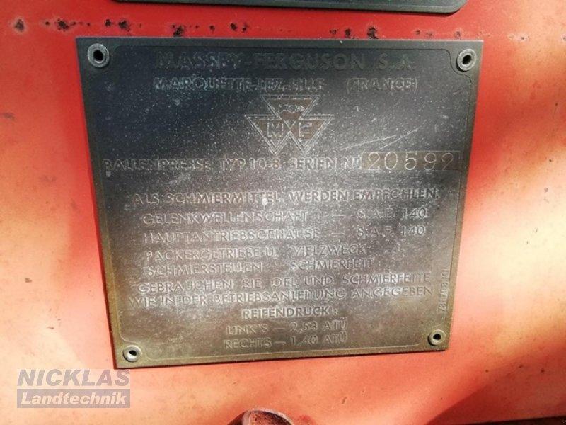 Hochdruckpresse des Typs Massey Ferguson 10-8, Gebrauchtmaschine in Schirradorf (Bild 7)