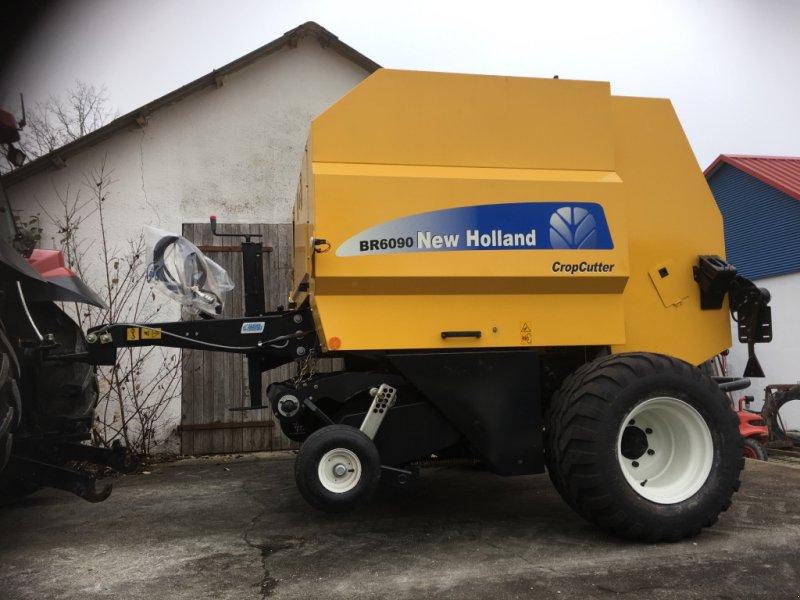 Hochdruckpresse des Typs New Holland ‼️BR 6090 Cropcutter‼️Bj 2019‼️Neu‼️Schneidwerk 15 Messer‼️, Neumaschine in Amerbach (Bild 1)