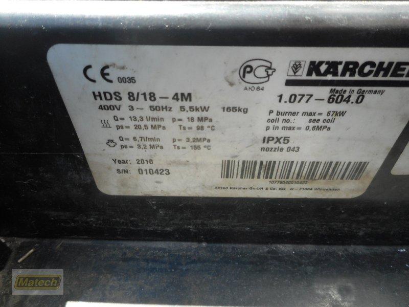 Hochdruckreiniger des Typs Kärcher HDS 8/18-4 M, Gebrauchtmaschine in Bühl (Bild 1)