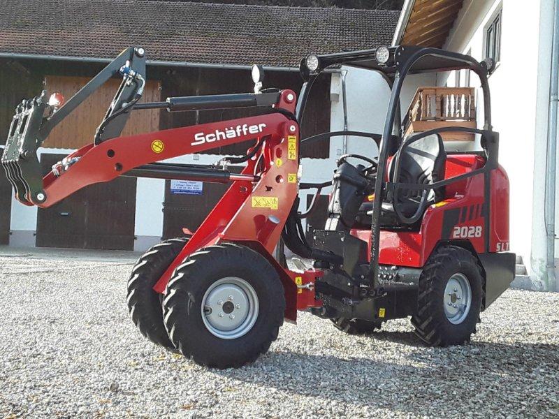 Hoflader des Typs Schäffer 2028 SLT, Neumaschine in Oberornau (Bild 1)