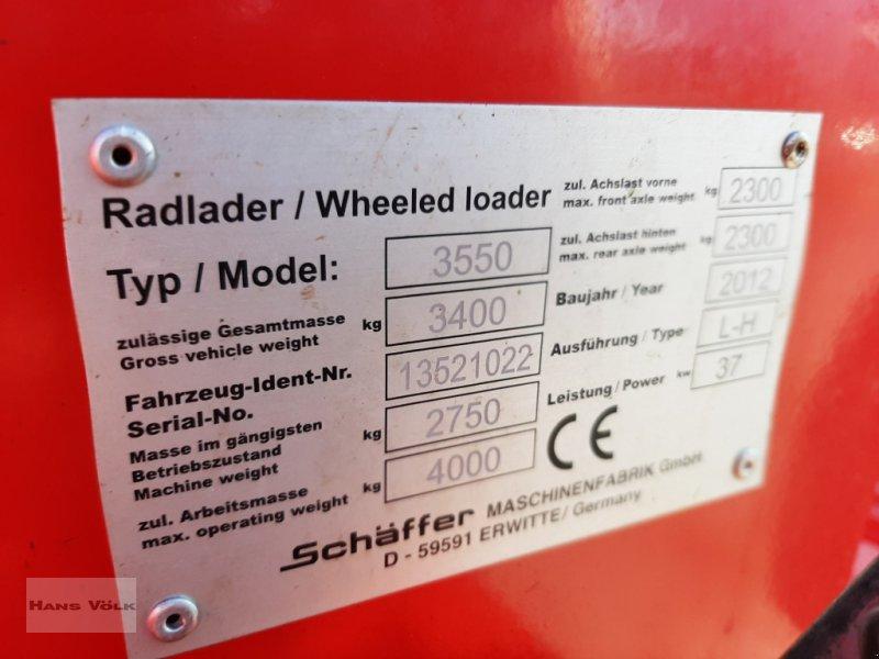 Hoflader des Typs Schäffer 3550, Gebrauchtmaschine in Antdorf (Bild 15)