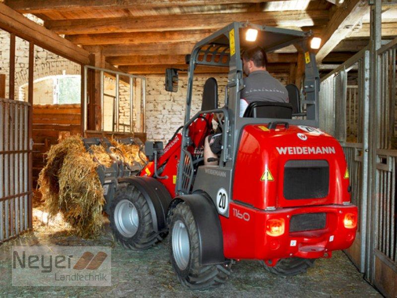 Hoflader des Typs Weidemann  1160, Neumaschine in Bad Waldsee Mennisweiler (Bild 1)