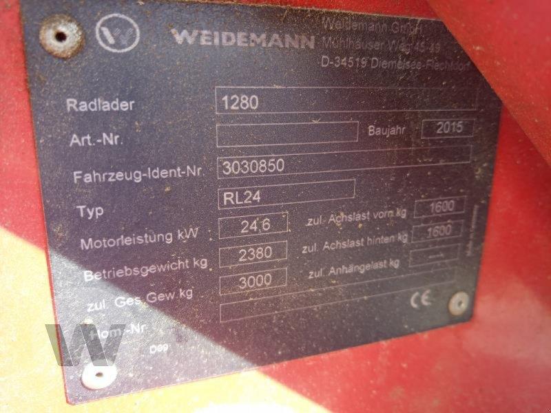 Hoflader des Typs Weidemann  1280, Gebrauchtmaschine in Husum (Bild 6)