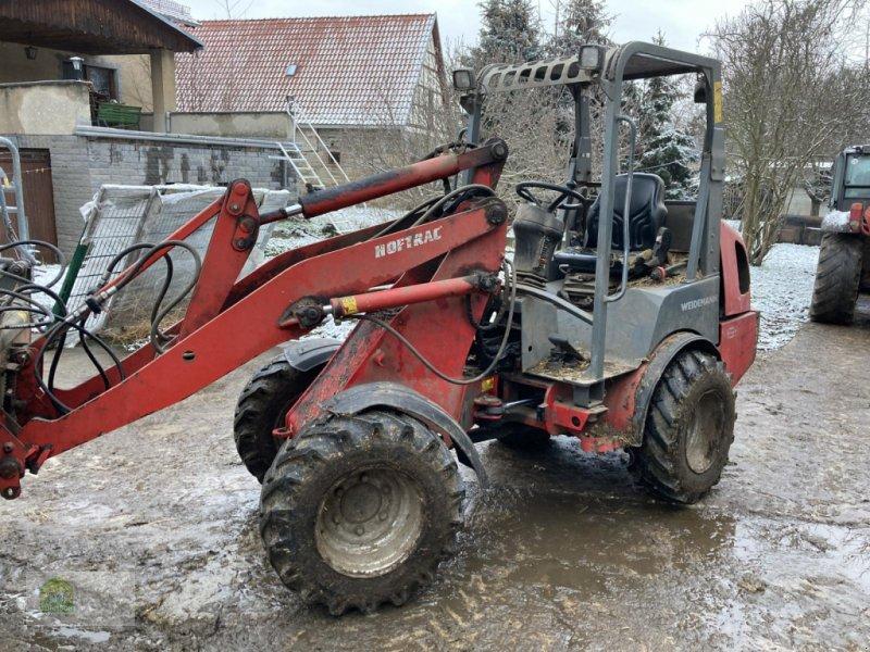 Hoflader des Typs Weidemann  1350 CX * viel Zubehör *, Gebrauchtmaschine in Salsitz (Bild 1)