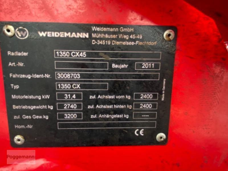 Hoflader des Typs Weidemann  1350 CX45, Gebrauchtmaschine in Bad Iburg - Sentrup (Bild 18)