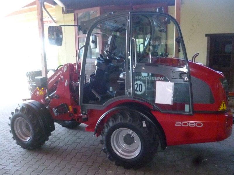 Hoflader des Typs Weidemann  2080 Hoflader, Hoftrac, Radlader, Kompaktlader, Neumaschine in Bad Kötzting (Bild 10)