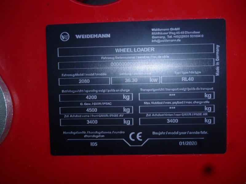 Hoflader des Typs Weidemann  2080 Hoflader, Hoftrac, Radlader, Kompaktlader, Neumaschine in Bad Kötzting (Bild 14)