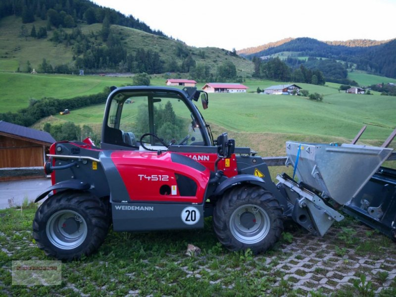 Hoflader des Typs Weidemann  4512 CC 40 neuwertig mit größerem Motor & Euroau, Gebrauchtmaschine in Tarsdorf (Bild 1)