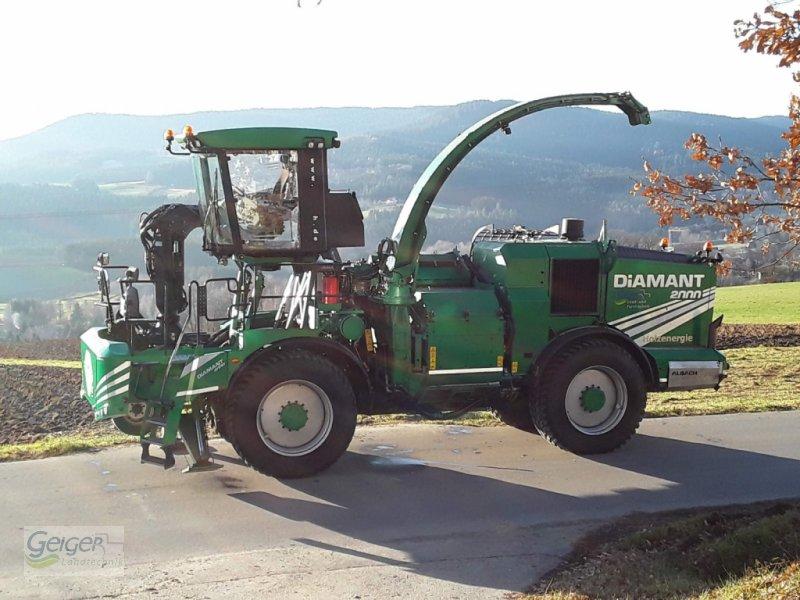 Holzhacker & Holzhäcksler des Typs Albach Diamant 2000, Gebrauchtmaschine in Drachselsried (Bild 1)