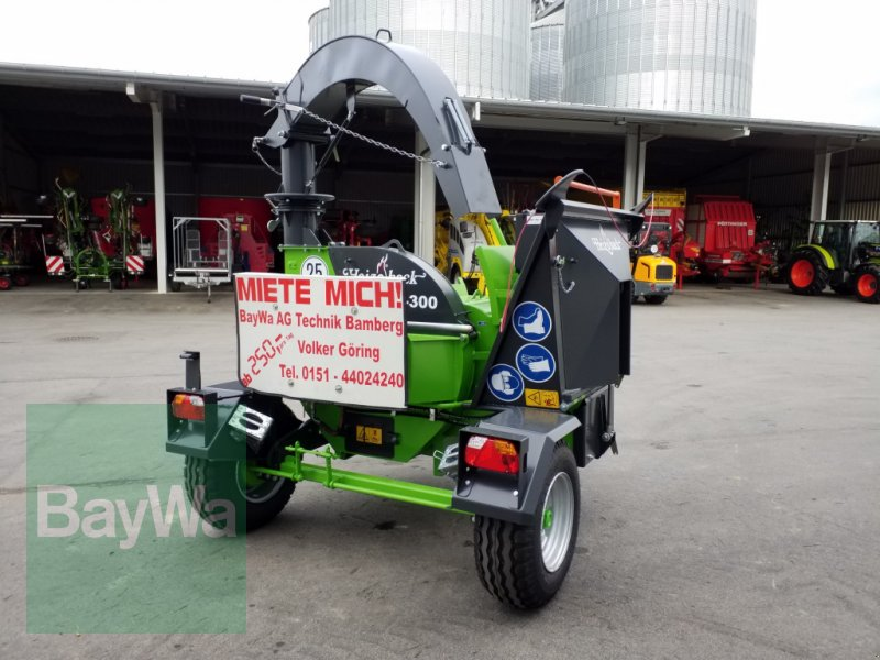 Holzhacker & Holzhäcksler des Typs Heizohack HM 6-300 *Miete ab 250€/Tag*, Gebrauchtmaschine in Bamberg (Bild 5)