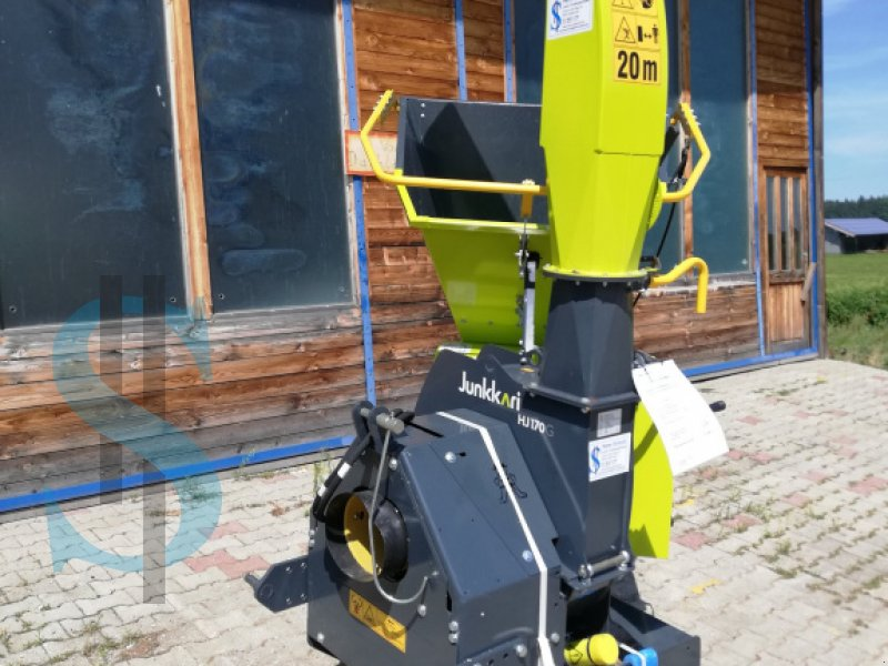 Holzhacker & Holzhäcksler des Typs Junkkari HJ 170 G, Gebrauchtmaschine in Dietramszell (Bild 3)