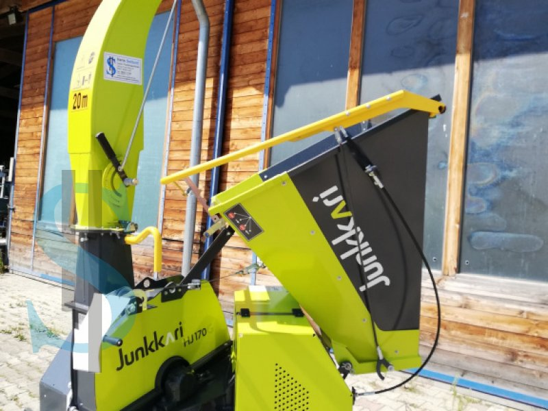 Holzhacker & Holzhäcksler des Typs Junkkari HJ 170 G, Gebrauchtmaschine in Dietramszell (Bild 2)