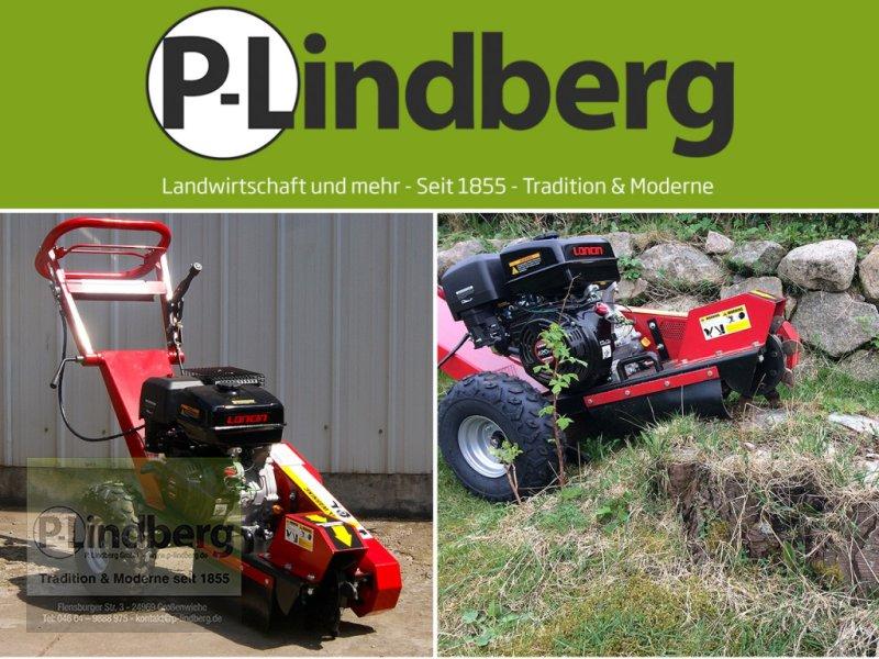 Holzhacker & Holzhäcksler des Typs P.Lindberg GmbH Stubbenfräse 15PS Stockfräse Baumwurzelfräse Wurzelfräse 420ccm 4-Takt Benzin, Neumaschine in Großenwiehe (Bild 1)
