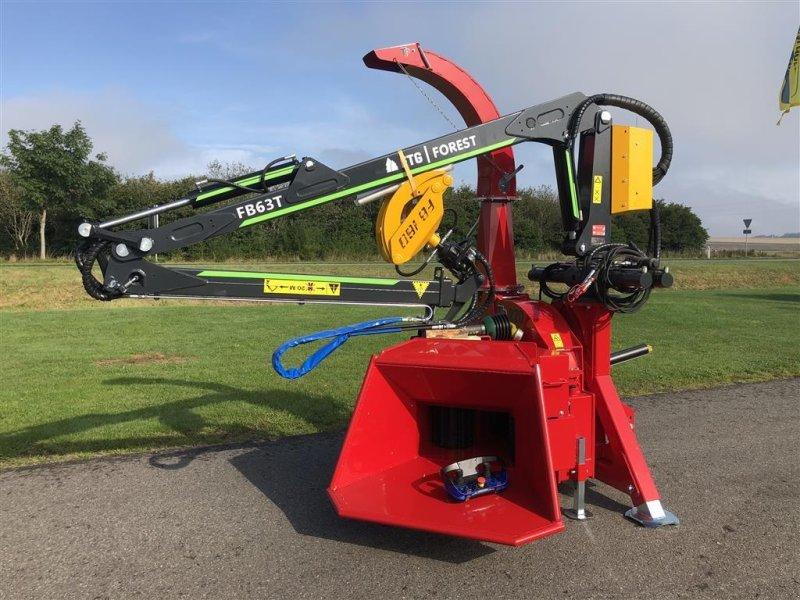Holzhacker & Holzhäcksler типа Sonstige 270 PTO K med FTG 6,3m kran med fjernbetjent joystick., Gebrauchtmaschine в Holstebro (Фотография 1)