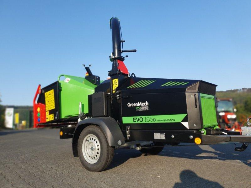 Holzhäcksler & Buschhacker des Typs GreenMech EVO 165D Limited 45PS, Neumaschine in Olpe (Bild 1)