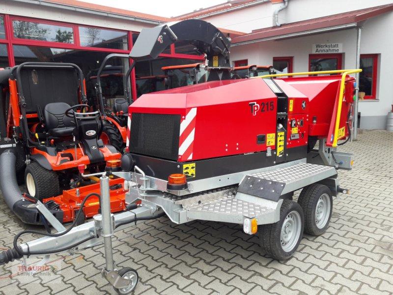 TP Häcksler TP215 mit Aufbaumotor faszecskázó/bozótvágó