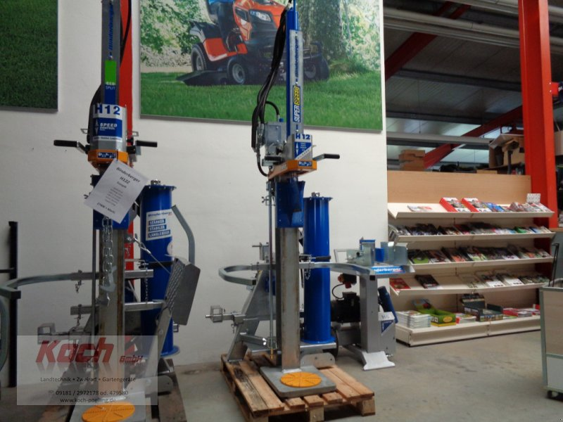 Holzspalter типа Binderberger H 12 Z, Neumaschine в Neumarkt / Pölling (Фотография 1)