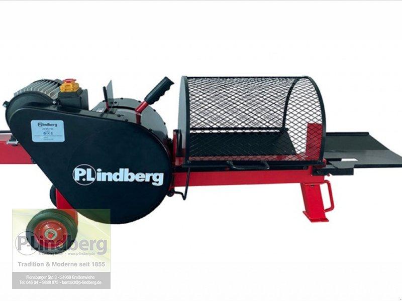 Holzspalter des Typs P.Lindberg GmbH Turbo Holzspalter 7 Tonnen Druck 230V 1.5 kW Motor 66 kg Sicherheitsgitter Strom, Neumaschine in Großenwiehe (Bild 1)