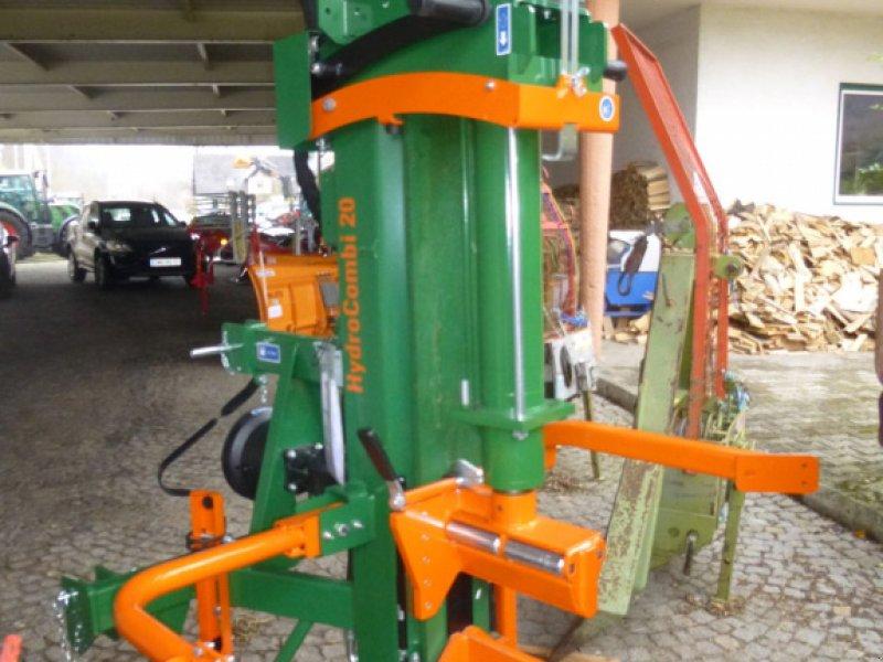 Holzspalter des Typs Posch HydroCombi 20, Neumaschine in Ebensee (Bild 1)