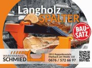 Holzspalter des Typs Warenhandel Schmied Langholzspalter, Neumaschine in Marbach am Walde