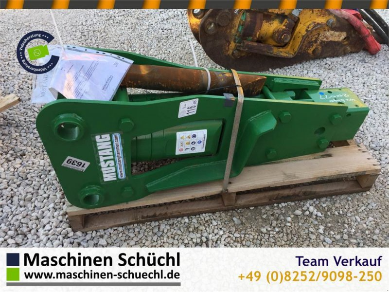 Hydraulikhammer типа Mustang BRH 125 Abbruchhammer 4-8to Bagger, Gebrauchtmaschine в Schrobenhausen (Фотография 1)
