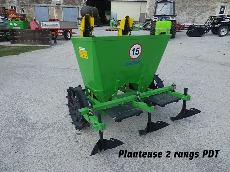 Kartoffellegemaschine типа BOMET PLANTEUSE 2 RANGS S239, Gebrauchtmaschine в RETHEL (Фотография 1)
