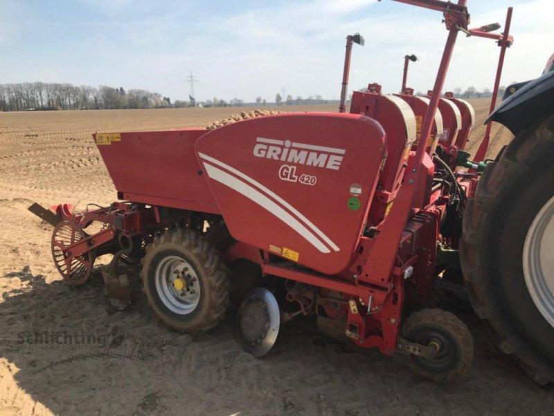 Kartoffellegemaschine typu Grimme GL420, Gebrauchtmaschine w Marxen (Zdjęcie 1)