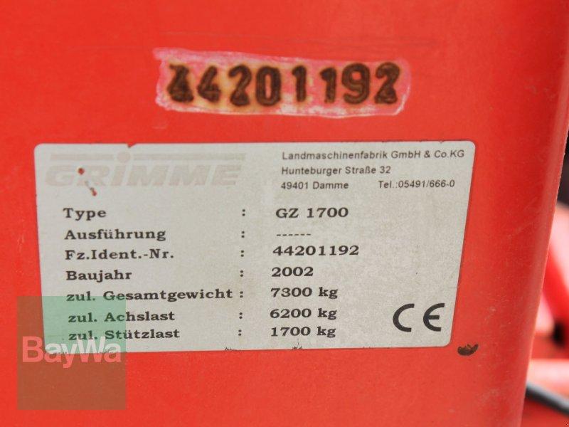 Kartoffelroder des Typs Grimme GZ 1700 DL, Gebrauchtmaschine in Straubing (Bild 9)