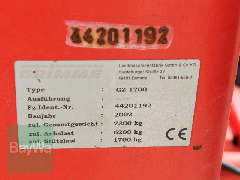 Kartoffelroder des Typs Grimme GZ 1700 DL, Gebrauchtmaschine in Straubing (Bild 14)