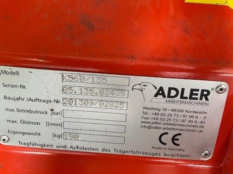 Kehrmaschine типа Adler Arbeitsmaschinen K 560 / 135, Gebrauchtmaschine в Hennstedt (Фотография 2)