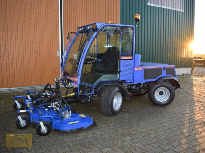Kehrmaschine типа Iseki ICT50, Gebrauchtmaschine в Niederer Fläming OT Riesdorf (Фотография 1)