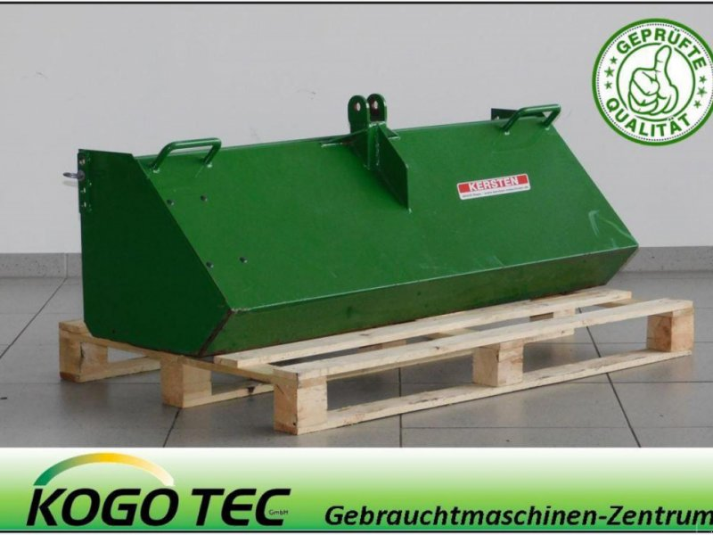 Kehrmaschine des Typs Kersten Sammelwanne, Gebrauchtmaschine in Neubeckum (Bild 1)